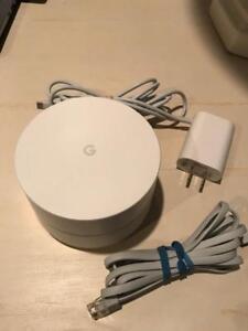Google Home WiFi Mesh Network System (NLS-1304-25) - White
