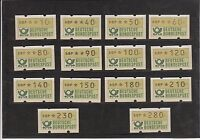 BRD/Bund - Automatenmarken (ATM) 1981 Nr. 1 - VS 1 - postfrisch/**