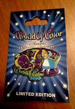 Disney World Of Color Pin 2010 Limited Edition Alice In Wonderland MOC