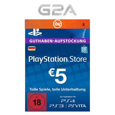 PlayStation Network 5 EURO Card Code DE PSN PS4 PS3 - Guthaben 5€ Key