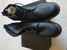 MENS BNWB FRENCH CONNECTION BLACK BOOTS SIZE 10