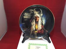 Algonquin 1st issue Noble Tribes Collector Plate
