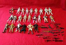 "Joblot 4"" Star Wars Clone Storm Trooper Figures 2005/2008 Hasbro 1999/2000 darth"