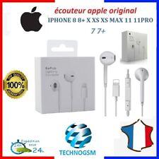 ÉCOUTEUR EARPODS LIGHTNING ORIGINAL APPLE iPhone 7 8 Plus X XS XR 11 Plus Max