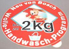 Aufkleber Sticker Bosch