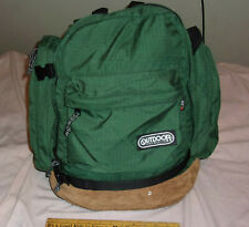 Vintage Outdoor Products Day Pack w/ Leather Bottom & Waist Strap SUPER CLEAN!