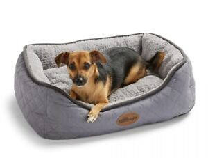 Dog Bed Silentnight Airmax Pet Bed Grey Small