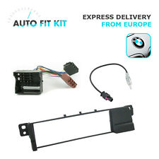 BMW Series 3 E36 E46 1 Din Single DIN Fascia Radio Stereo Replacement Kit Fakra