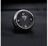 Car Clock Auto Refit Innere Luminous Electronic Quarzuhr Watch Für CADILLAC logo