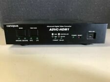 CANOPUS ADVC-HDM1 HD SDI HDV IEEE1394 BI DIRECTIONAL CONVERTER WORK GRT BUYITNOW