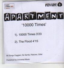 (AD350) Apartment, 10000 Times - DJ CD