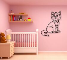 Wall Stickers Vinyl Decal Cute Cat Animal for Children's Room Pets (ig735)