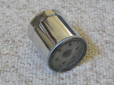Set of 6 chrome oil filter for Harley, replaces # 63796-77A and 63806-83