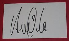 VICTOR ANICHEBE EVERTON HAND SIGNED AUTOGRAPH INDEX CARD