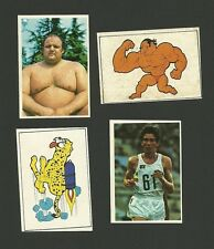 Belgium Serge Redding Emile Puttemans Olympics Weightlifting Sticker Cards Italy