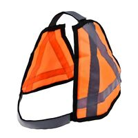 Pet Dog Harness Reflective Puppy Collar Adjustable Nylon Outdoor Safety Vest