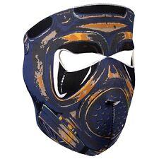 Biker Motorrad Face Mask Gasmaske Gesichtsschutz Gas Maske Sturmhaube