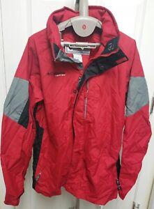 Columbia Vertex Youth Jacket Size 18-20 Red & Black Coat Nice
