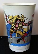 SPIDER-MAN vs SANDMAN & KRAVEN The HUNTER MARVEL SUPER HEROES 7-11 CUP 1977