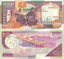 Somalië Pick-Aantal: 37b ongecirculeerd 1996 1.000 Shilling