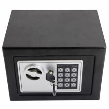 Electronic Home Office wall Safe Security Box Jewelry Gun Cash Black free ship