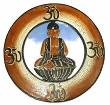 BUDDHA SPIEGEL Holz Feng Shui Wandspiegel Dekospiegel Budda Budha Buddhaspiegel