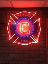 neon sign Chicago Fire Used But In Really Good Condition