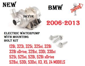 Genuine Engine Cooling Electric Water Pump For BMW 325 328 330 525 528 530 X3 X5