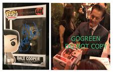 Kyle MacLachlan signed funko pop vinyl Dale Cooper Twin Peaks photo proof 448