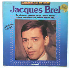 Jacques BREL Disque d'Or LP VINYL 33 T France 6886 109 1978