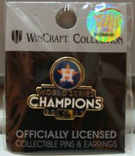 HOUSTON ASTROS 2017 WORLD SERIES CHAMPIONS COLLECTOR PIN BRAND NEW WINCRAFT