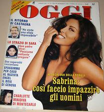 OGGI=2001/18=SABRINA FERILLI=EDOARDO COSTA=ANNA OXA=MARCO MASINI=LIV TYLER=