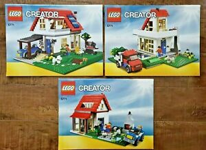 Creator LEGO - 5771 Hillside House (2011) INSTRUCTIONAL MANUALS ONLY