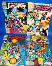 Miniserie 4 numeros LOS VENGADORES-Terminatrix-forum Marvel-del 1 al 4