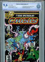 Crisis on Infinite Earths #1 CBCS  9.6 NM+ DC Comics 1985 B3