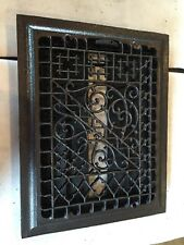 Antique Ornate Cast Iron Heating Great Tc 105