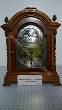 OUTSTANDING DUTCH WALNUT MANTEL CLOCK MARKED RENE MONTAN HOLLAND