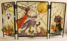 Halloween Tealight Candle Holder Home Decor Ghost Witch Black Cat