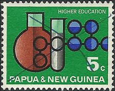 PNG 1967  5c  Higher Education  FU  (24)  Very clean, pen cancelation