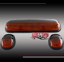 3PCS AMBER CAB ROOF LIGHTS GMC S15 JIMMY SIERRA 1500 2500 3500 C3 DENALI SONOMA