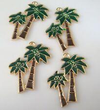 2p coconut Metal Charms pendants DIY Bracelet earring Jewellery Making crafts e8