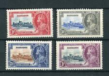 Barbados KGV 1935 Silver Jubilee set MH