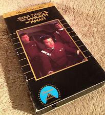 Star Trek II: The Wrath of Khan (VHS) - Collectors Series Edition