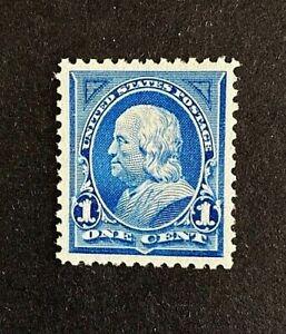 US Stamps, Scott #264 1895 1c Franklin 2006 PSE Certificate - GC XF/S 95. Fresh!