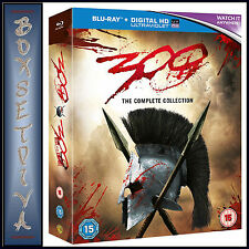 300 & 300 - RISE OF AN EMPIRE - DOUBLE PACK  *BRAND NEW BLURAY REGION FREE*