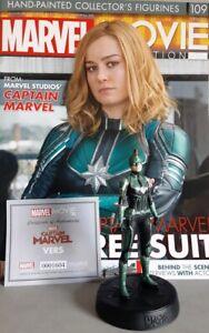 Marvel Movie Collection #109 Captain Marvel (Kree Suit) Figurine Eaglemoss Engli