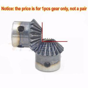 Motor Bevel Gear 1.0 Mod 20 Tooth 90° Pairing Bore 5/6/6.35/8mm Bevel Gear x1Pcs