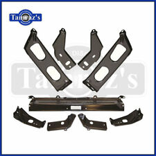 1964 Ford Galaxie 9 Piece Front & Rear Bumper Bracket Set  - Brand New Tooling