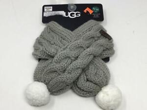 NWT Ugg Dog Cable Knit Scarf Small/Medium
