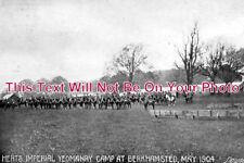 HF 356 - Imperial Yeomanry Camp, Berkhamsted, Hertfordshire c1904 - 6x4 Photo